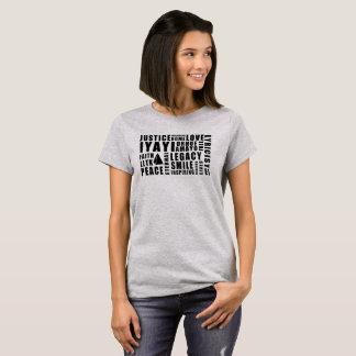 Camiseta O t-shirt das mulheres de justiça de Iyayi