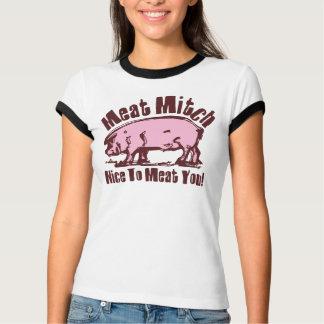 Camiseta O t-shirt das mulheres de Mitch da carne