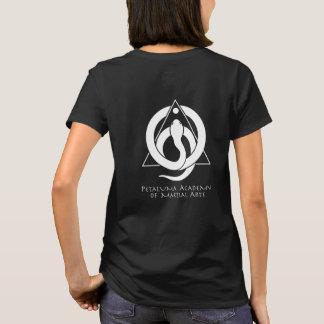 Camiseta O t-shirt das mulheres de PAMA (preto)