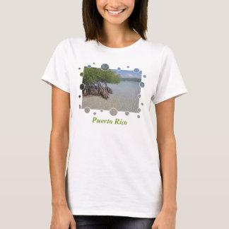 Camiseta O t-shirt das mulheres de Puerto Rico