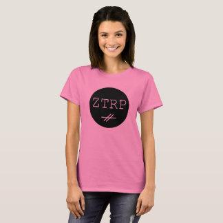 Camiseta O t-shirt das mulheres de ZTRP com logotipo novo