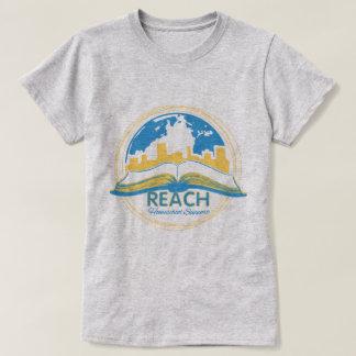 Camiseta O t-shirt das mulheres do ALCANCE