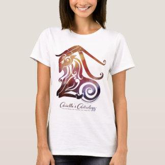Camiseta O t-shirt das mulheres do Capricórnio