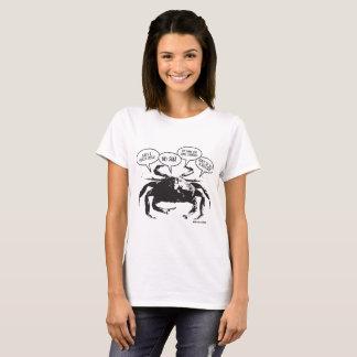 Camiseta O t-shirt das mulheres do caranguejo de Boston