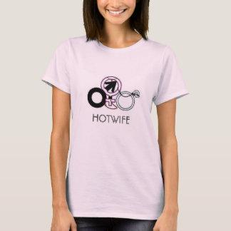 Camiseta O t-shirt das mulheres do cuckold de HOTWIFE