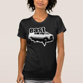 Camiseta o t-shirt das mulheres do design da skyline do