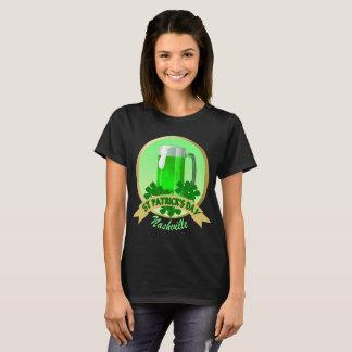 Camiseta O t-shirt das mulheres do Dia de São Patrício de