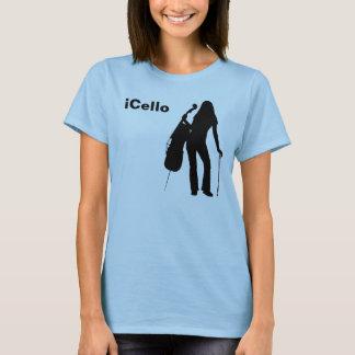 Camiseta o t-shirt das mulheres do iCello
