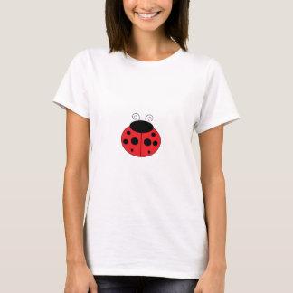 Camiseta O t-shirt das mulheres do joaninha