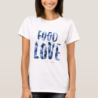 Camiseta O t-shirt das mulheres do mirtilo de FoodLove