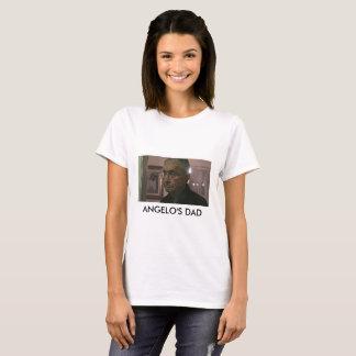 Camiseta O t-shirt das mulheres do pai de Angelo