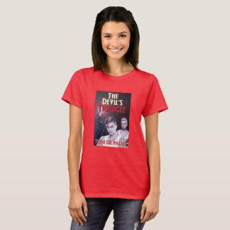 Camiseta O t-shirt das mulheres do triângulo do diabo