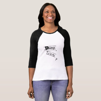 Camiseta O t-shirt das mulheres do trunfo da descarga