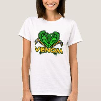 Camiseta O t-shirt das mulheres do veneno