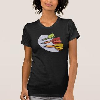 Camiseta O t-shirt das mulheres dos dardos