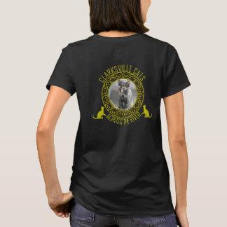 Camiseta O t-shirt das mulheres dos gatos de Clarksville