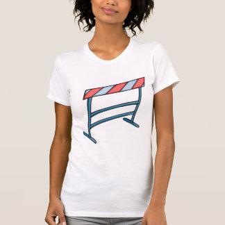 Camiseta O t-shirt das mulheres dos obstáculos