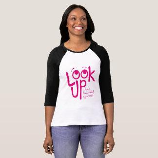Camiseta O t-shirt das mulheres engraçadas