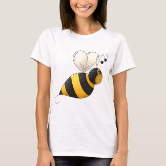 Camiseta O t-shirt das mulheres gordas da abelha