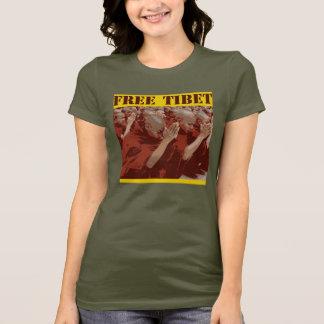 Camiseta O t-shirt das mulheres livres de Tibet