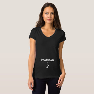 Camiseta O t-shirt das mulheres/meninas de IYAMBAD