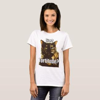 Camiseta O t-shirt das mulheres obtidas de Tortitude