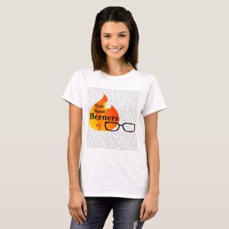 Camiseta O t-shirt das mulheres para a curvatura Berners do