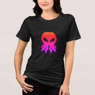 Camiseta O t-shirt das mulheres profundas do deus