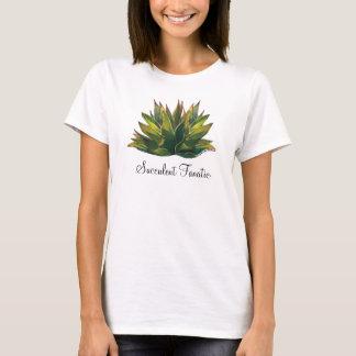 Camiseta O t-shirt das senhoras da aguarela da agave