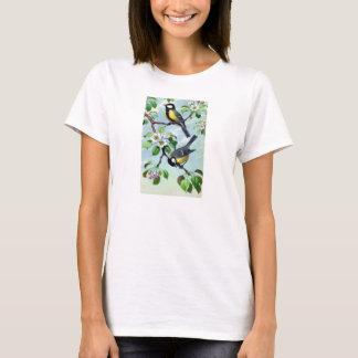 Camiseta O t-shirt das senhoras - ornitologia - grandes