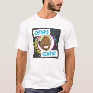 Camiseta O t-shirt de canto do logotipo do Cena original