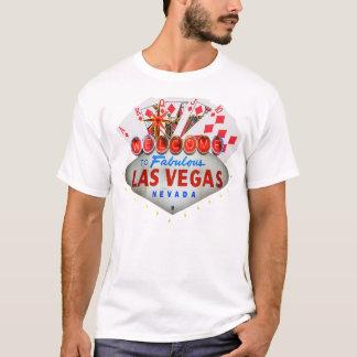 Camiseta O t-shirt de jogador de póquer de Las Vegas