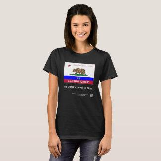 Camiseta O t-shirt de luxe das mulheres livres da república