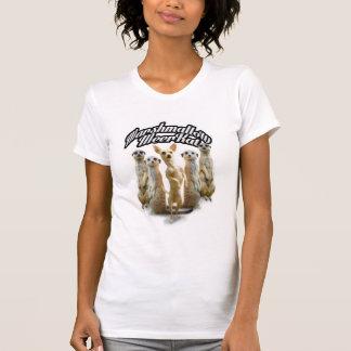 Camiseta O t-shirt de Meerkat do Marshmallow
