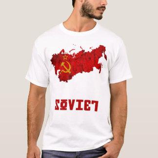 Camiseta O t-shirt de URSS/União Soviética