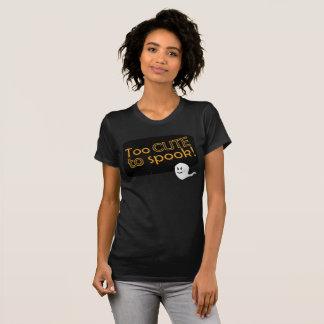 Camiseta O t-shirt demasiado bonito das mulheres do Dia das