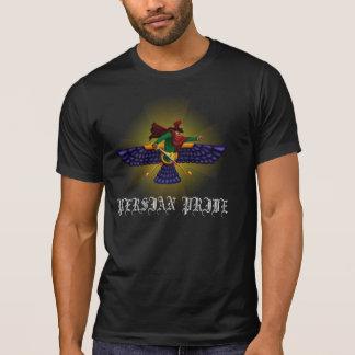 Camiseta O t-shirt destruído dos homens persas do orgulho