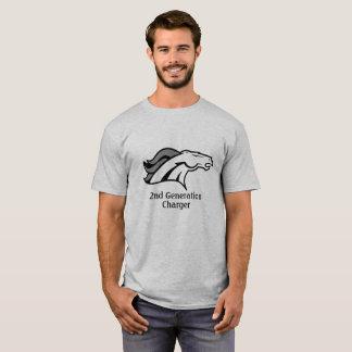 Camiseta ò T-shirt do adulto do carregador da geração