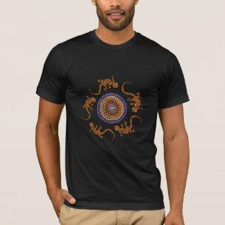Camiseta O t-shirt do amante dos animais do geco do deserto