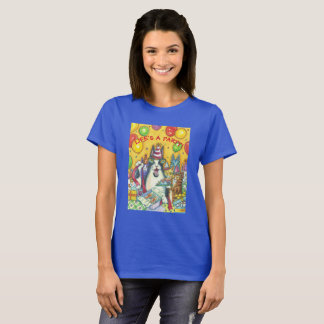 Camiseta O T-SHIRT do BASIC do PARTIDO do CAT de N Fitz do