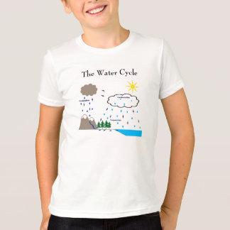 Camiseta O t-shirt do ciclo da água