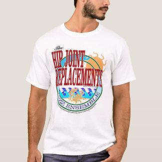 Camiseta O t-shirt do conjunto do jazz das substituições da