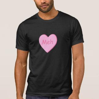 Camiseta O t-shirt do dia dos Anti-Namorados com meh do