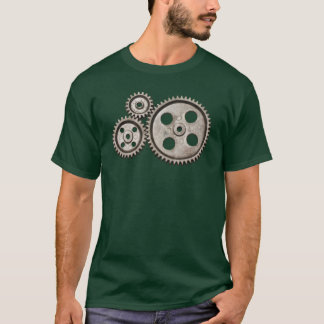 Camiseta O t-shirt do homem de Steampunk