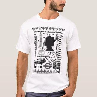 Camiseta O t-shirt do jubileu de diamante do Queens