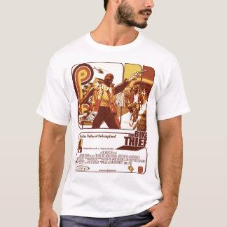 Camiseta O t-shirt do ladrão da bicicleta