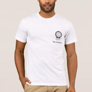 Camiseta O t-shirt do logotipo do lado do panteão
