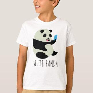 """Camiseta O t-shirt do menino: De """"panda Selfie """""""