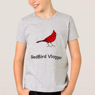 Camiseta O t-shirt do menino de RedBird Vlogger