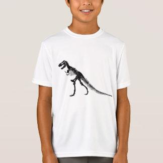 Camiseta O t-shirt do menino de Rex do tiranossauro